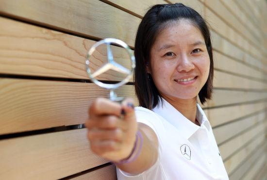 Li Na Signs Big Endorsement Deal With Mercedes Benz