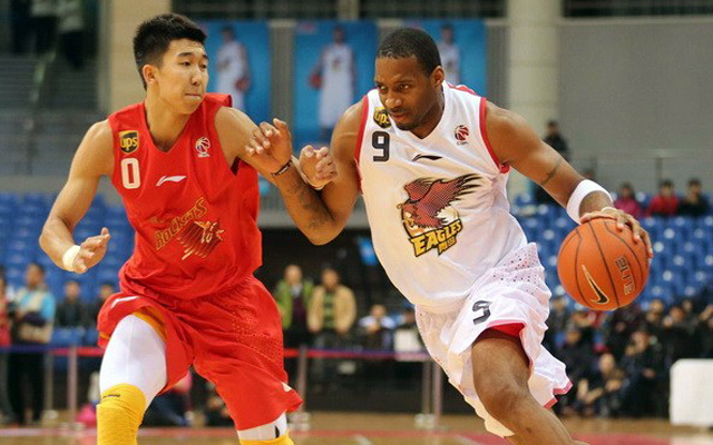 Tracy McGrady Qingdao Eagles